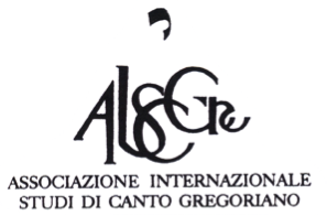 The International Society for Studies of Gregorian Chant (AISCGre)